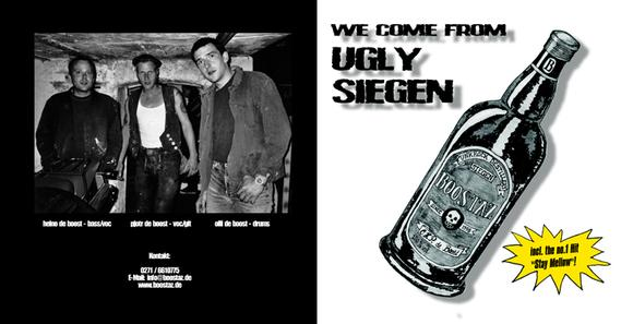 Cover Boostaz CD, We come from ugly Siegen