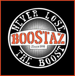 Cover Boostaz CD, Never loose the boost